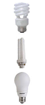 Cfl Light Bulb Shapes and Sizes