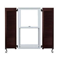 Outdoor or external window shutters