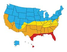 Replacement Windows And 4 U.S Climate Zones