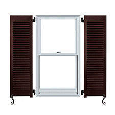 Outdoor or external window shutters